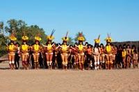 As Yamurikumã na aldeia Kamayurá - Xingu 2012